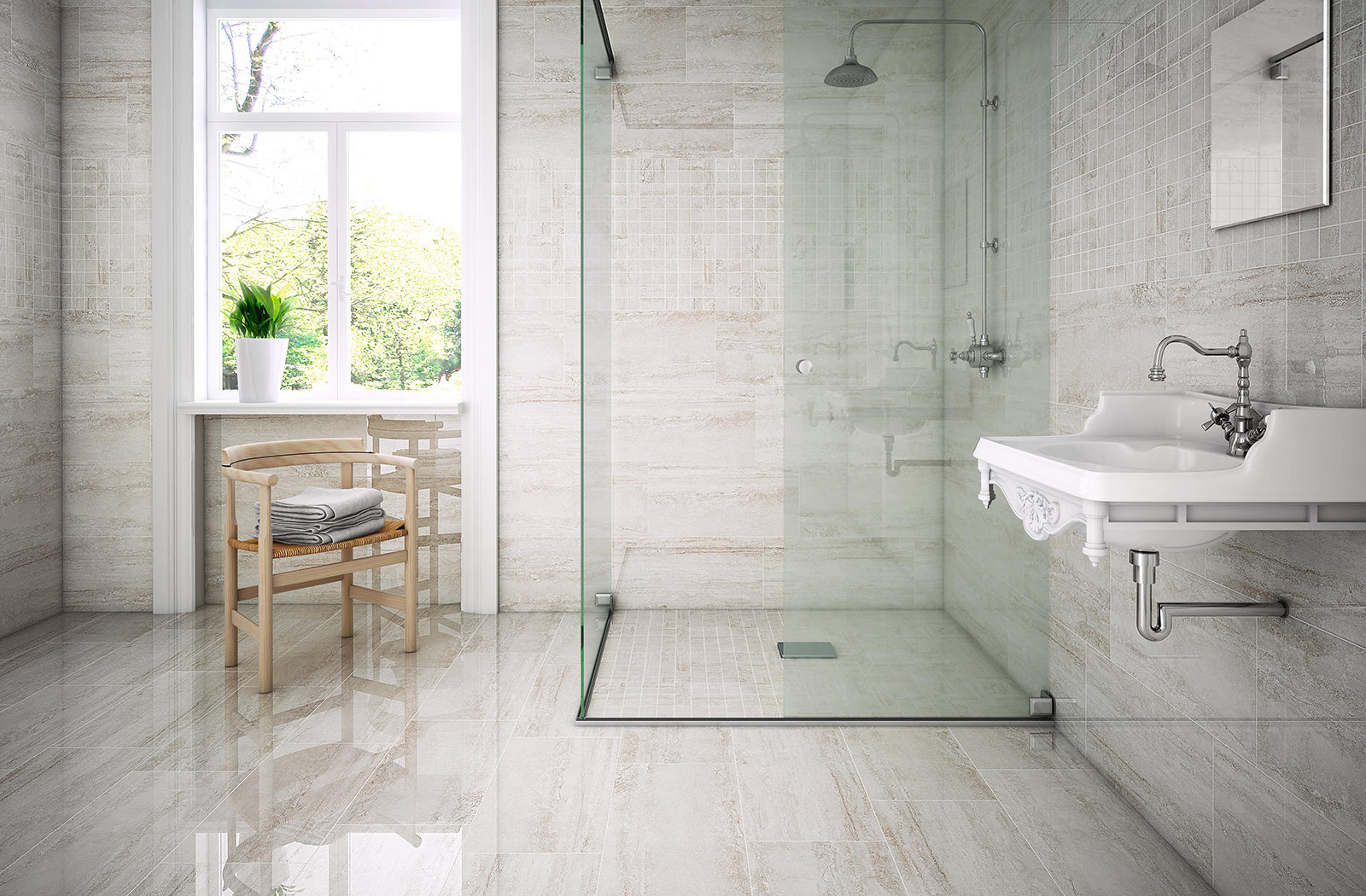 Charmwood Series Porcelain Olympia Tile