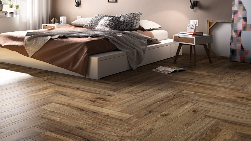 Italwood series porcelain olympia tile for Chambre a coucher wenge