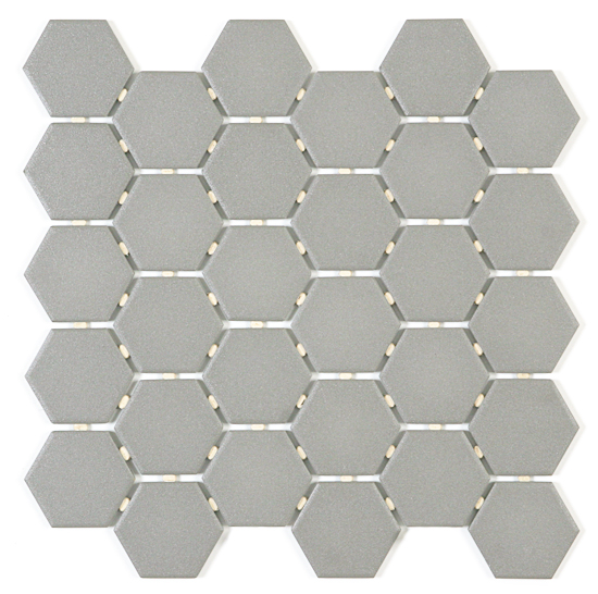 Dark Grey Hexagon